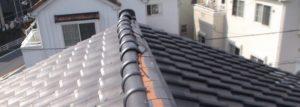屋根瓦のズレ