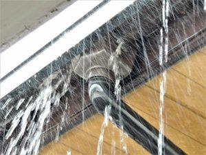 雨樋のトラブルの写真