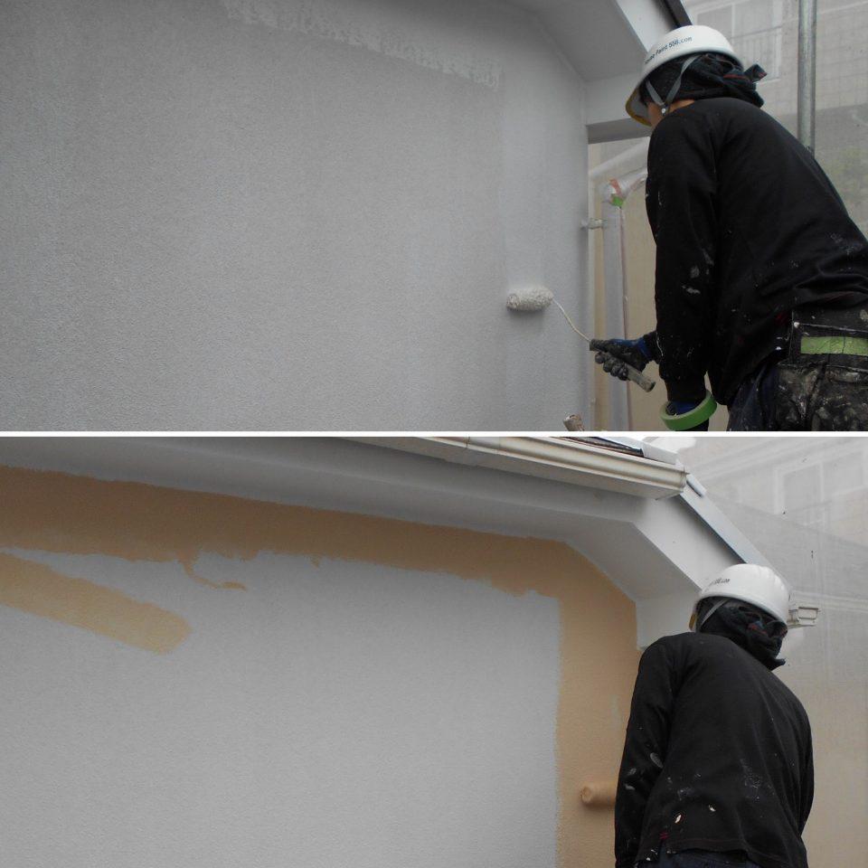 モルタル外壁塗装